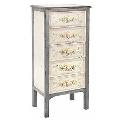 Bizzotto 0744089 - Genziana Weekly-wood-5 drawers