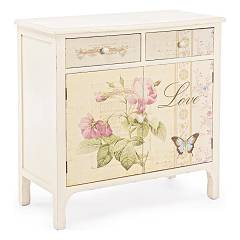 sale Sideboard In Wood With 2 Doors And 2 Drawers 0744144 - Madame