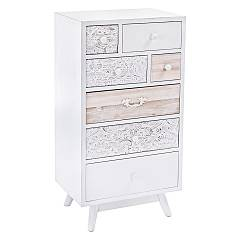 Bizzotto 0745362 - Glenn Chest of drawers in wood with 7 drawers