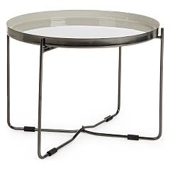 Bizzotto 0746190 - Amina Round table in iron d. 52