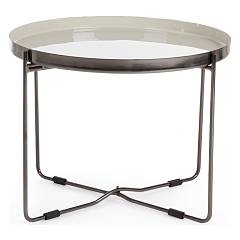 Bizzotto 0746191 Round coffee table d. 61 Amina