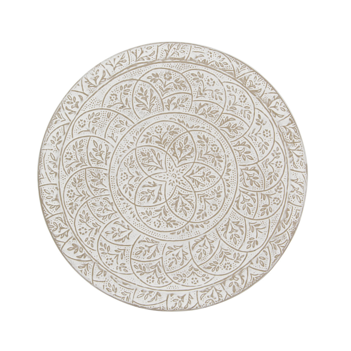 Photos 2: Bizzotto Round table in metal d. 70 0746053