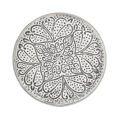 Photos 2: Bizzotto Round table in metal d. 42 0746050