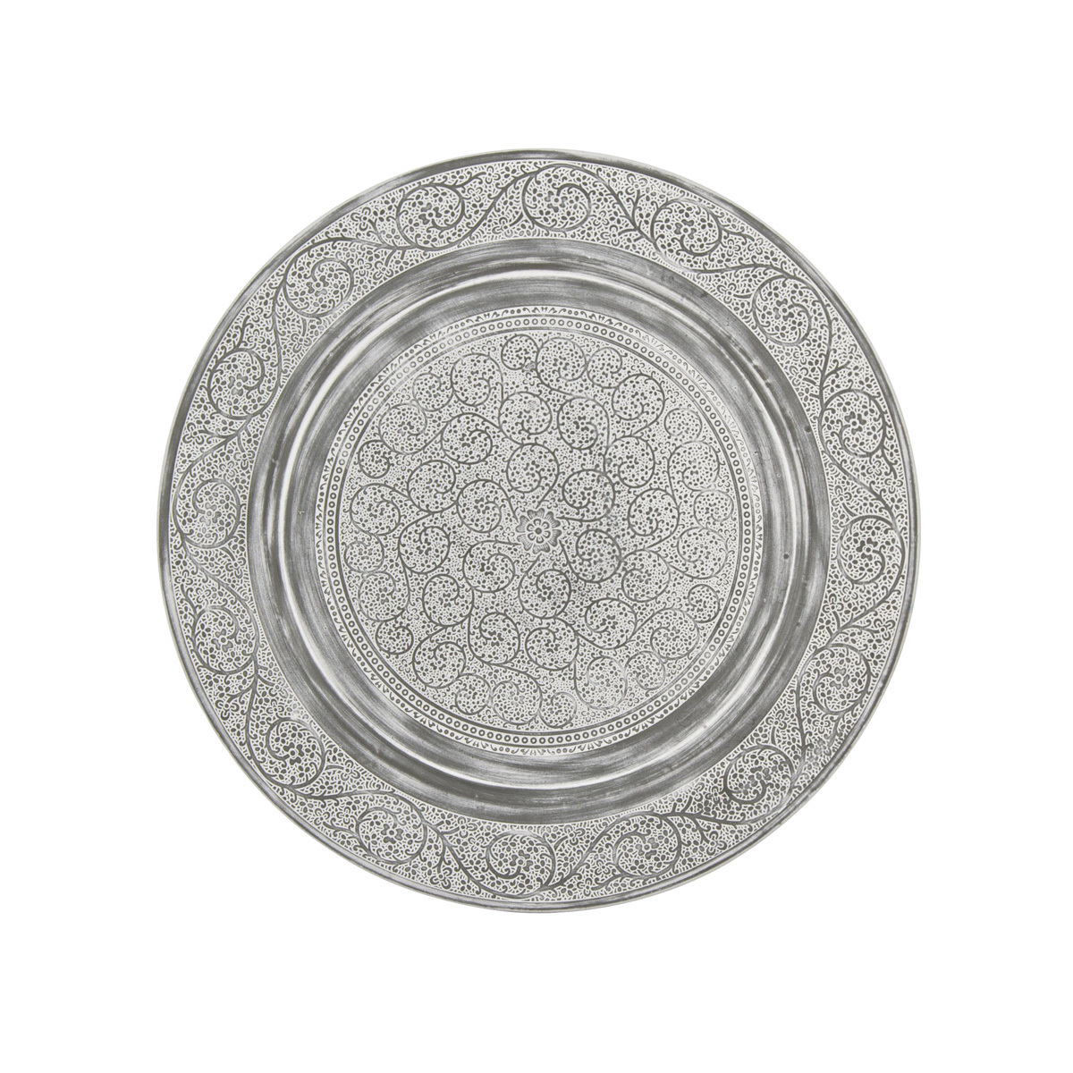 Photos 2: Bizzotto Round table in metal d. 50 0746051