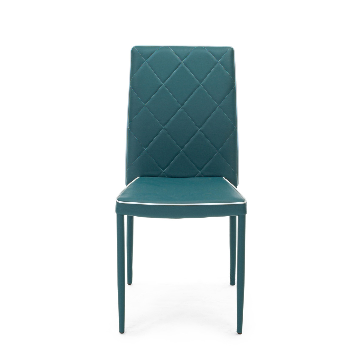 Photos 2: Bizzotto Chair covered in eco-leather - petroleum 0730785