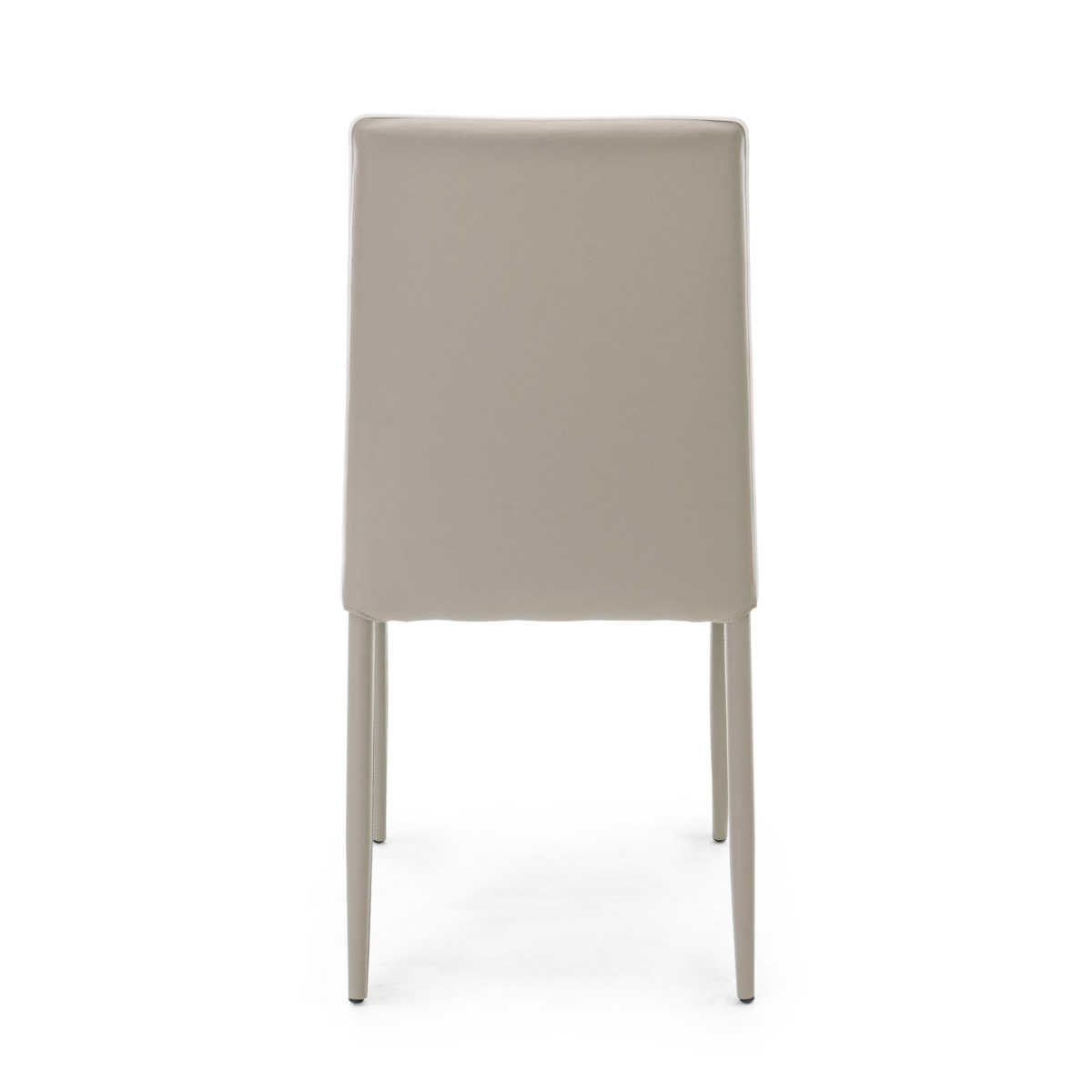 Photos 4: Bizzotto Chair covered in faux leather - tortora 0730786