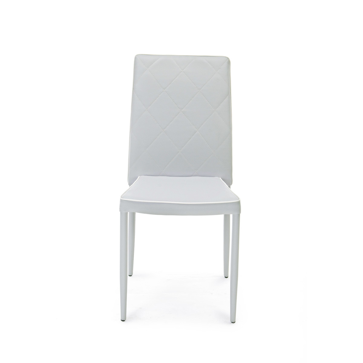 Photos 2: Bizzotto Chair covered in eco-leather - gray 0730787
