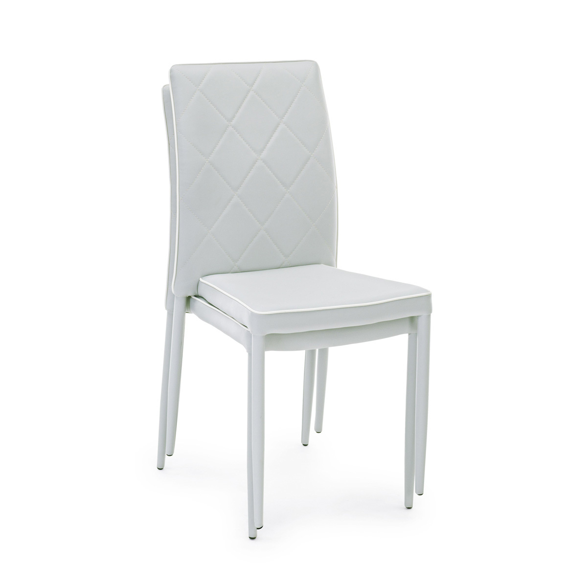 Photos 6: Bizzotto Chair covered in eco-leather - gray 0730787