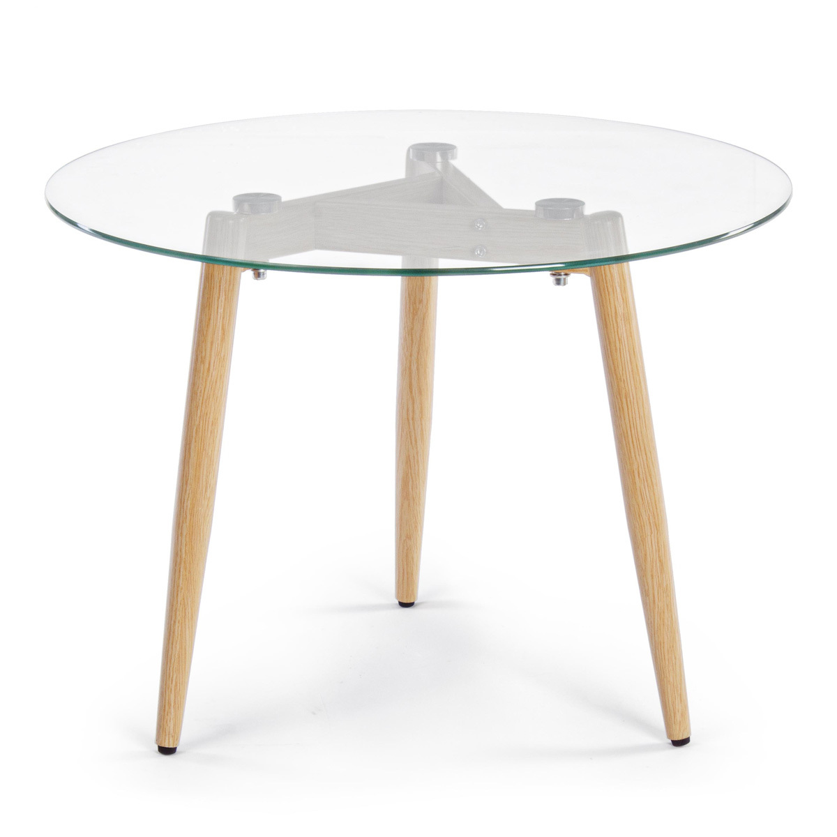 Photos 2: Bizzotto Table in metal and glass d.60 0730794