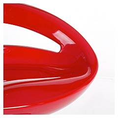Photos 4: Bizzotto 0731330 Aster Stool in metal and abs - red