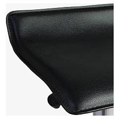 Photos 4: Bizzotto 0731341 Esse Stool in metal and pvc - black