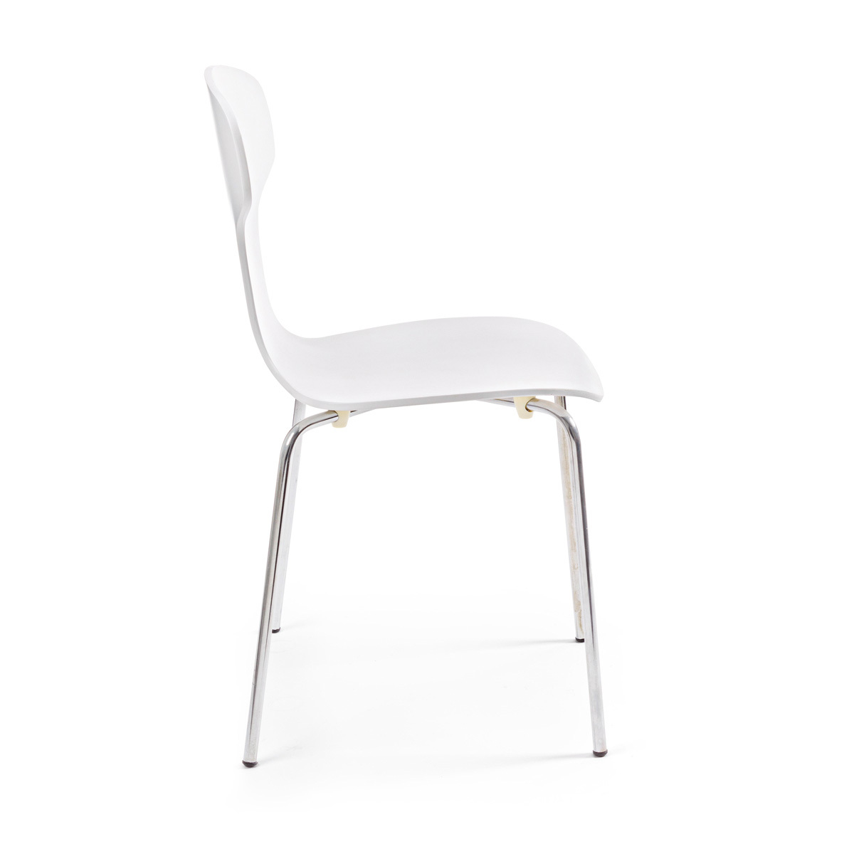 Photos 2: Bizzotto Chair in metal and wood - white 0731622