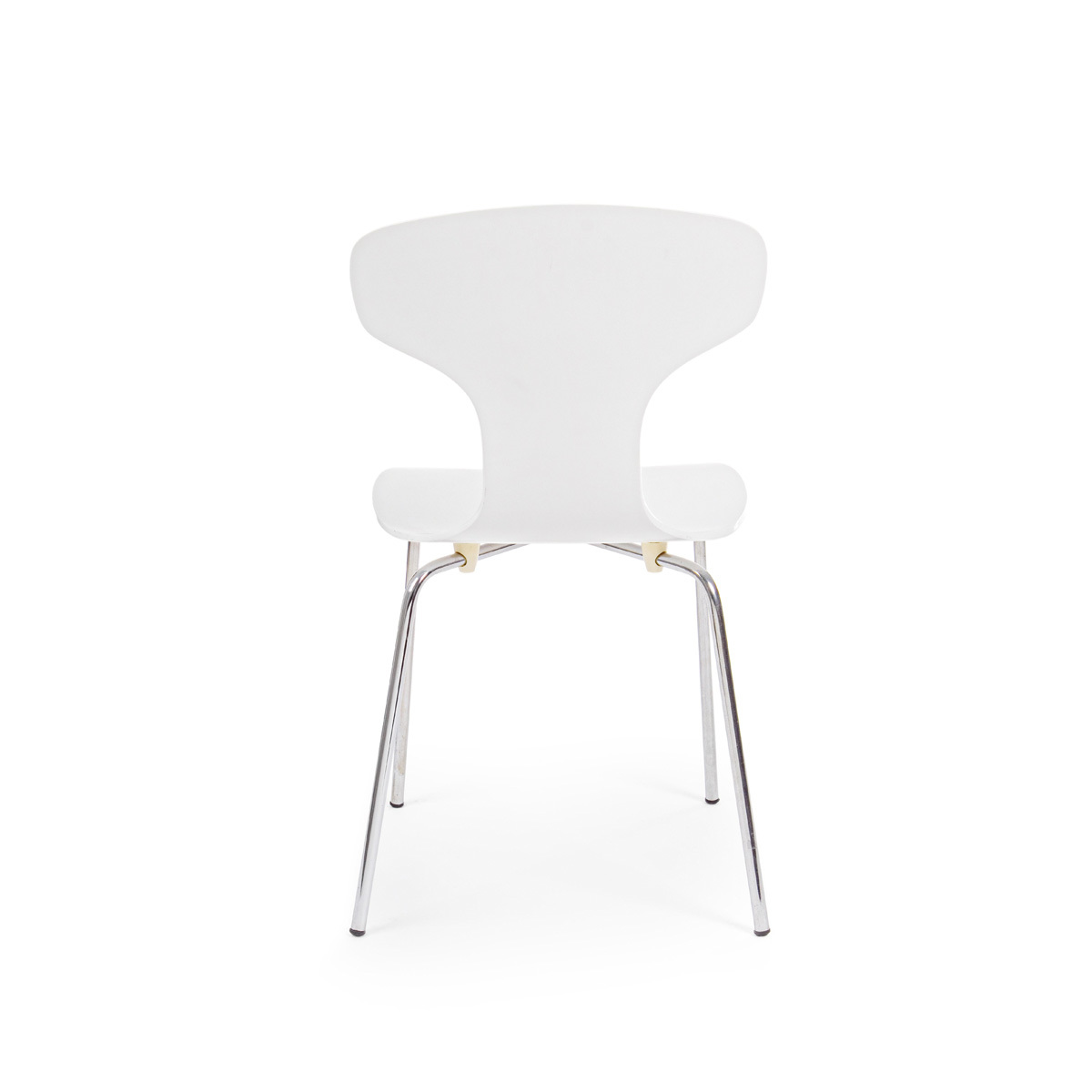 Photos 3: Bizzotto Chair in metal and wood - white 0731622