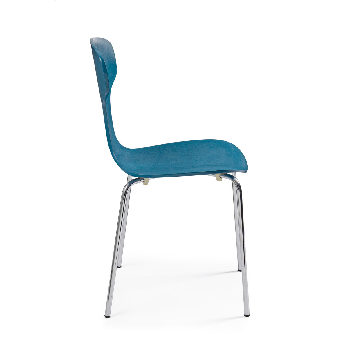 Photos 2: Bizzotto Chair in metal and wood - cobalt 0731624