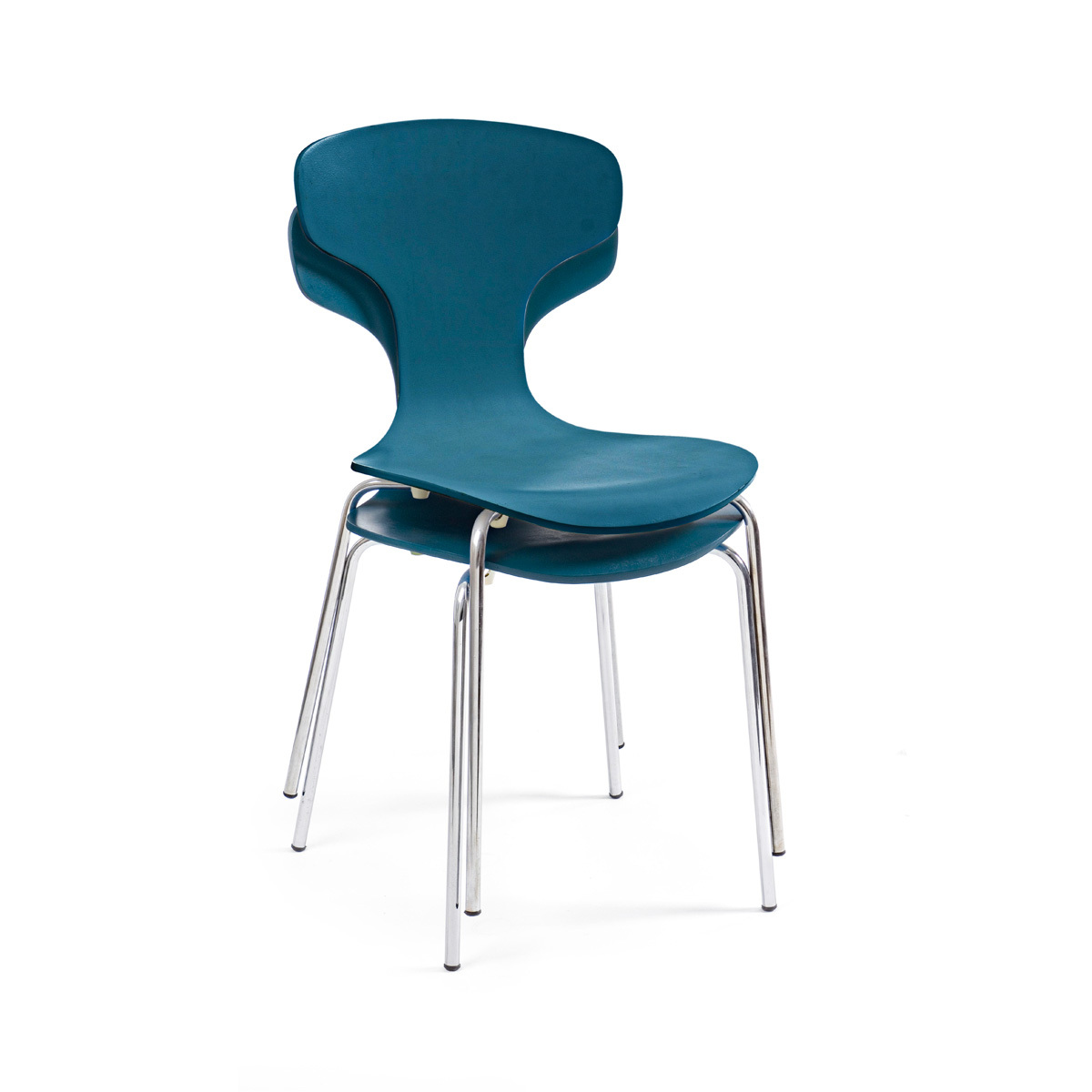 Photos 4: Bizzotto Chair in metal and wood - cobalt 0731624