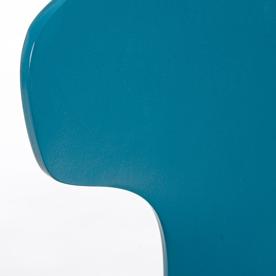 Photos 5: Bizzotto Chair in metal and wood - cobalt 0731624