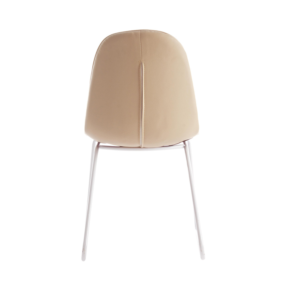 Photos 3: Bizzotto Chair in metal and eco-leather - tortora 0731656