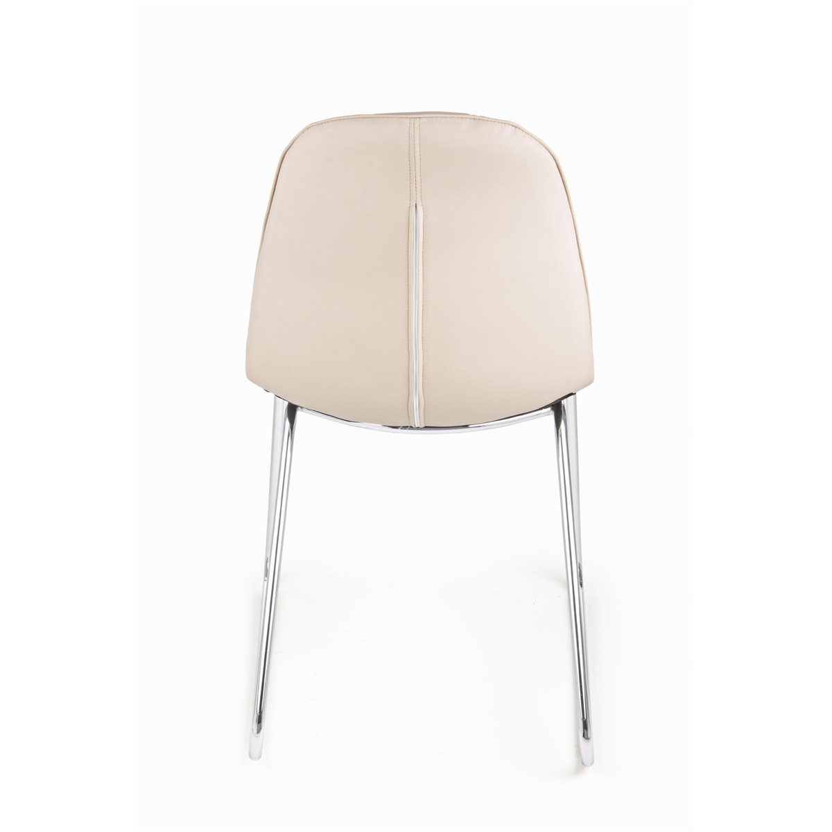 Photos 3: Bizzotto Chair in metal and eco-leather - tortora 0731665