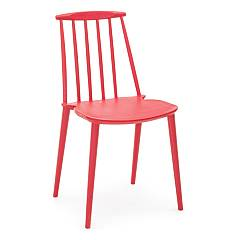 Bizzotto 0731690 Chair in polypropylene - red Scott