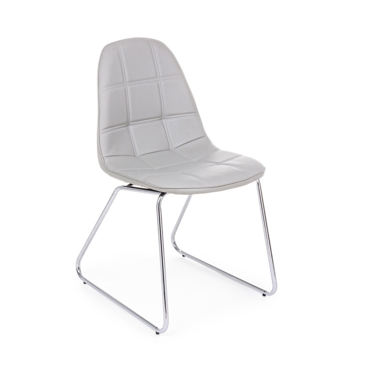 Photos 1: Bizzotto Chair in metal and eco-leather - corda 0731712