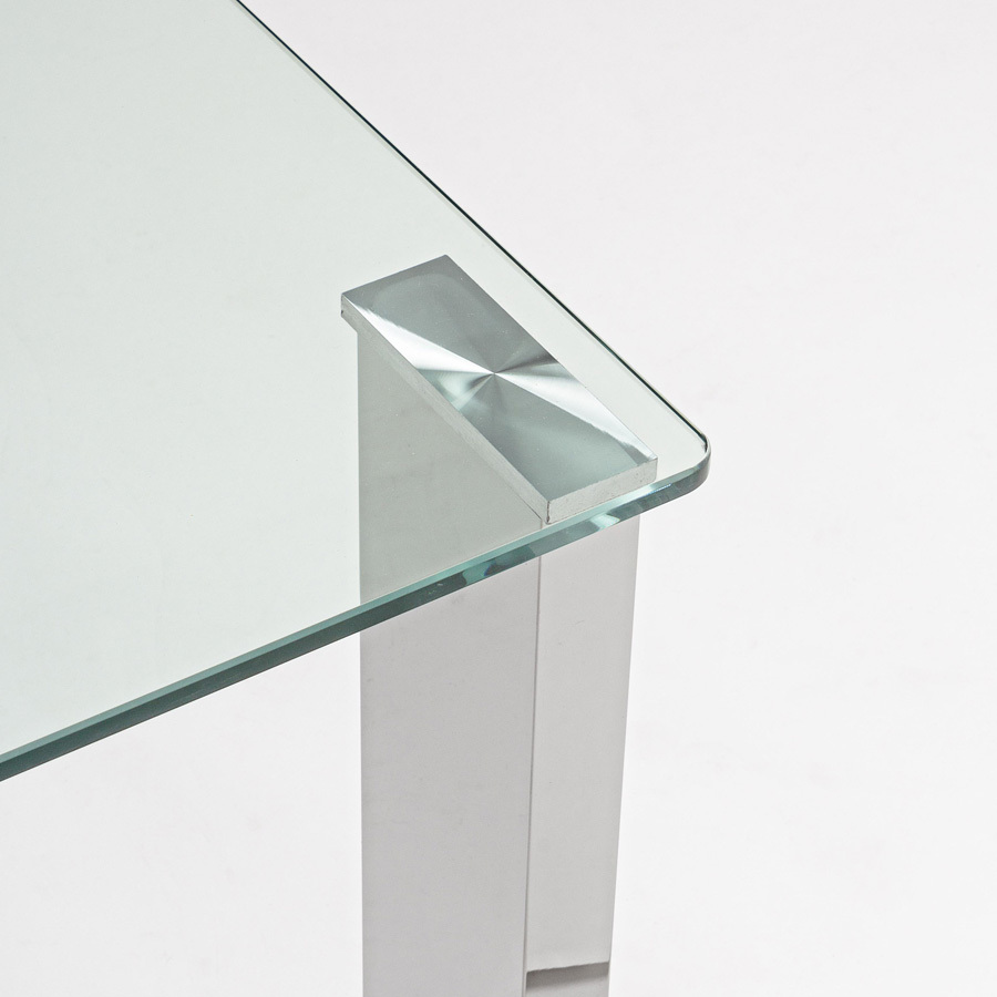 Photos 4: Bizzotto Rectangular table in glass l. 120 x 60 0731955
