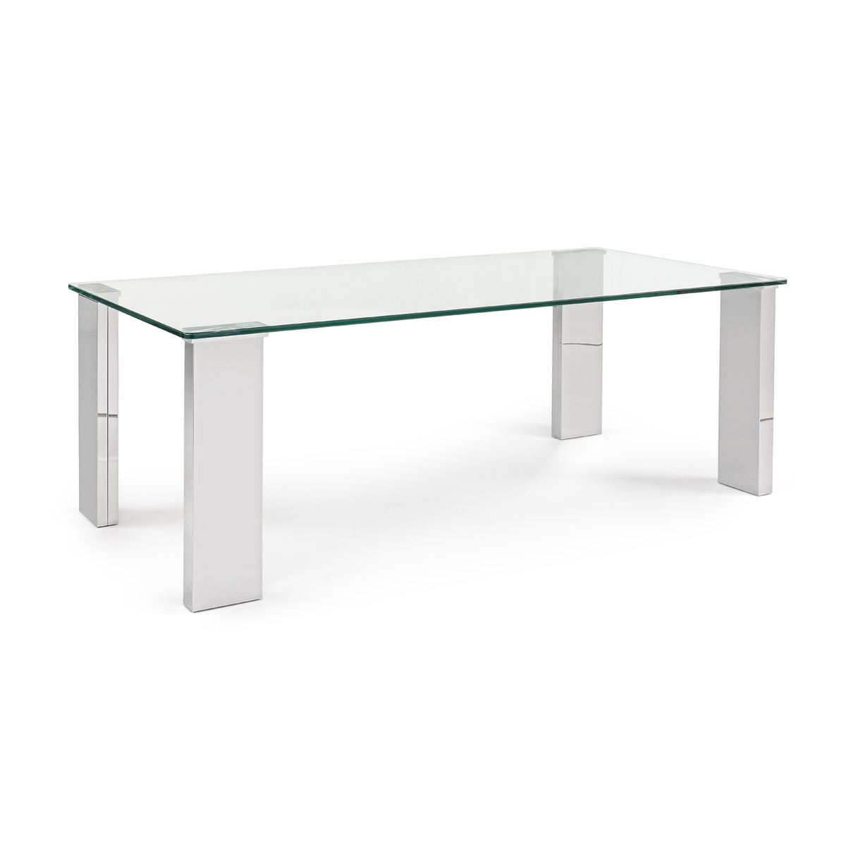 Photos 1: Bizzotto Rectangular table in glass l. 120 x 60 0731955