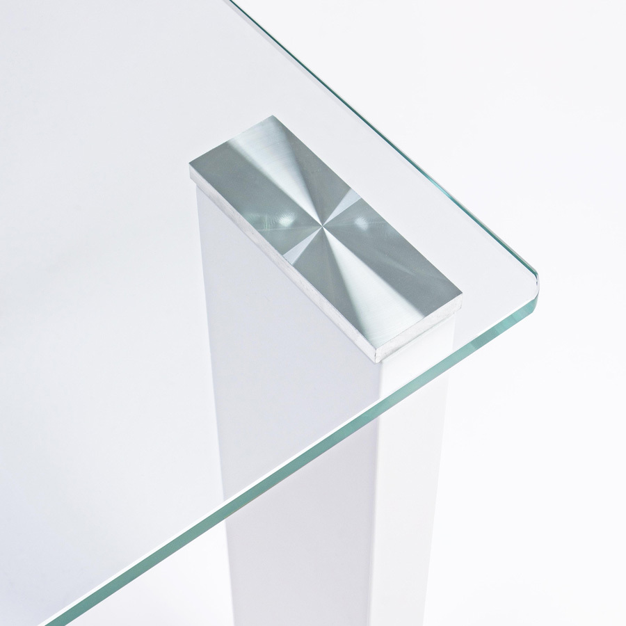 Photos 4: Bizzotto Rectangular table in glass l. 120 x 60 0731963
