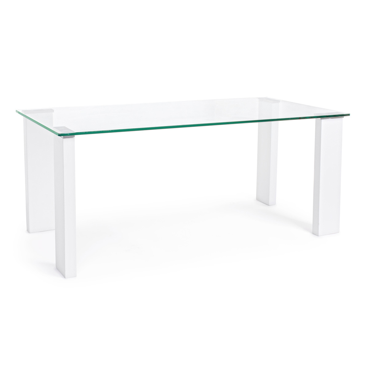 Photos 1: Bizzotto Rectangular table in glass l. 120 x 60 0731963