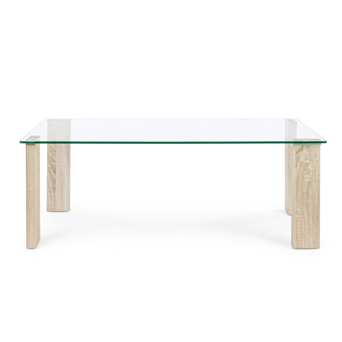 Photos 2: Bizzotto Table in glass and wood l. 120 x 60 0731677
