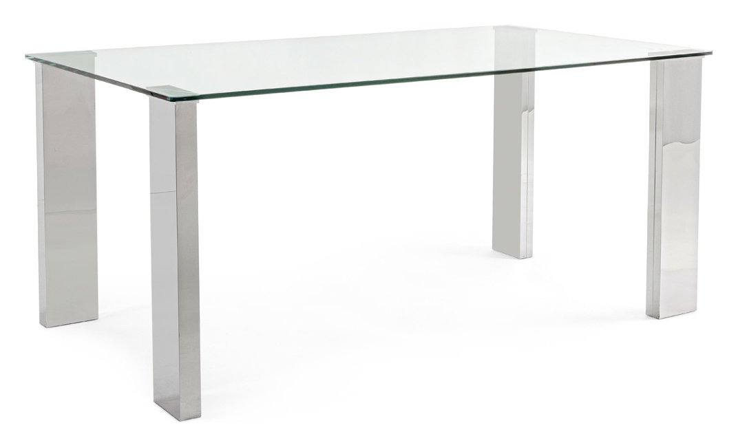 Photos 1: Bizzotto Fixed rectangular table l. 160 x 90 0732136