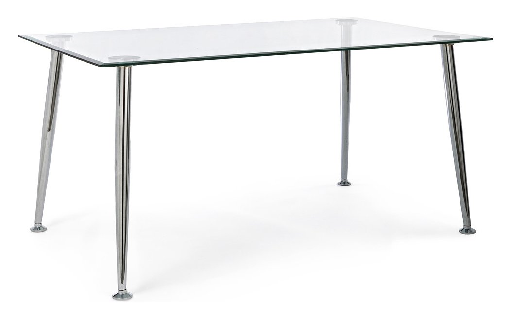 Photos 1: Bizzotto 0732139 Tower Fixed rectangular table l. 150 x 90