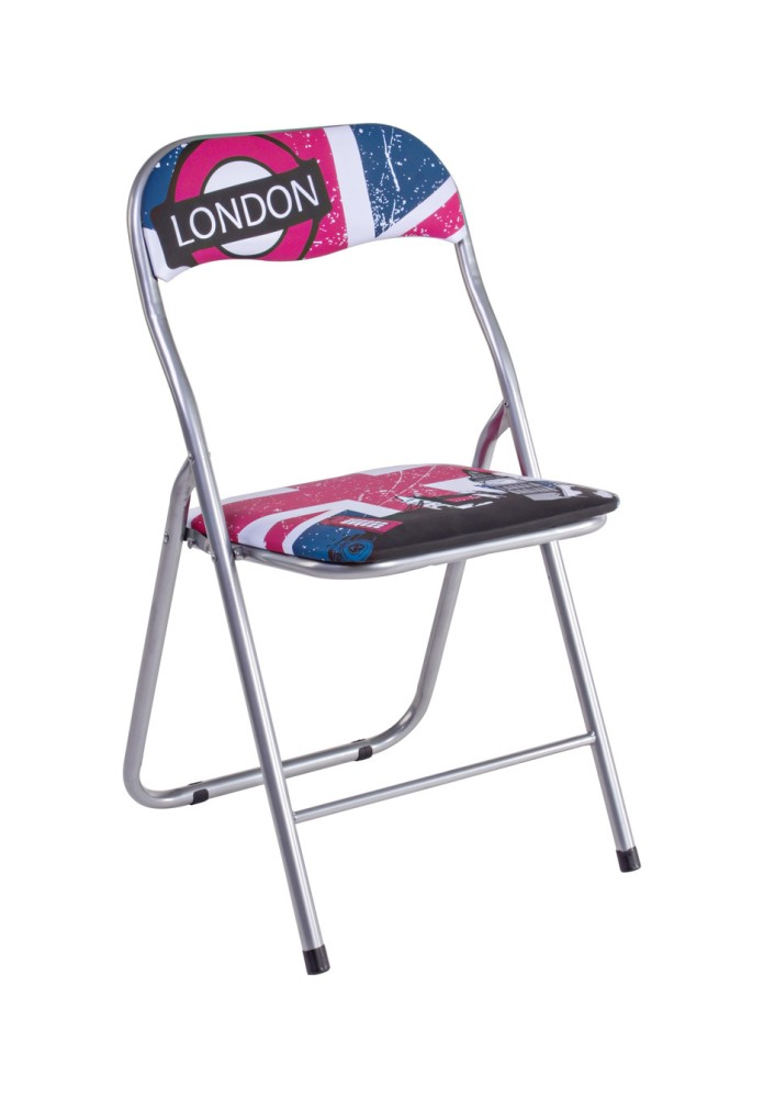 Photos 1: Bizzotto Foldable metal chair - london 5730521