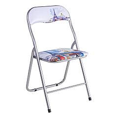 Bizzotto 5730522 Folding chair in metal - paris Joy