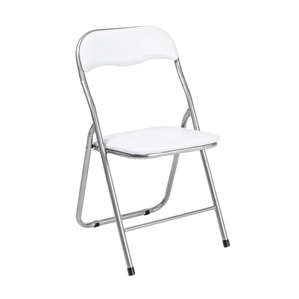 Photos 1: Bizzotto Folding chair in metal - white 5730524
