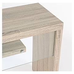 Photos 2: Bizzotto 5732000 Bilbao Fixed console in wood and glass l. 120 x 40