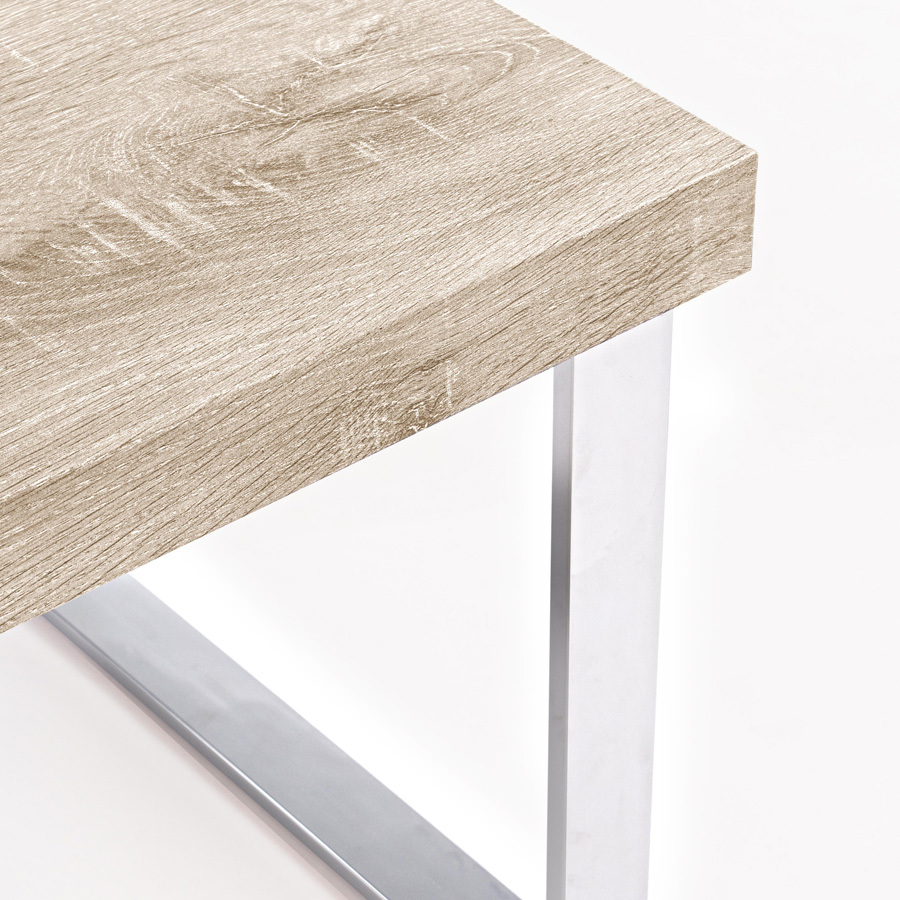 Photos 2: Bizzotto Wood and metal table l.100 x 50 5732015