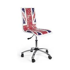 Bizzotto 0710114 Office chair with wheels - british Young