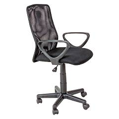Bizzotto 0710117 - NIXON Chair office with wheels - black