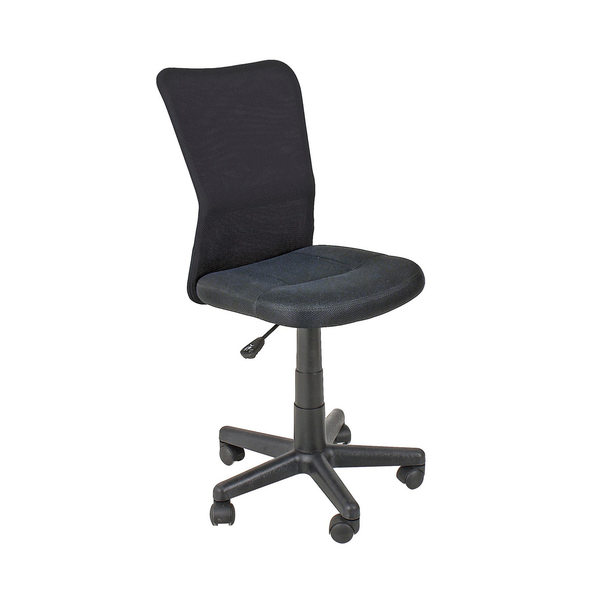 Photos 1: Bizzotto Office chair with wheels - black 0710134