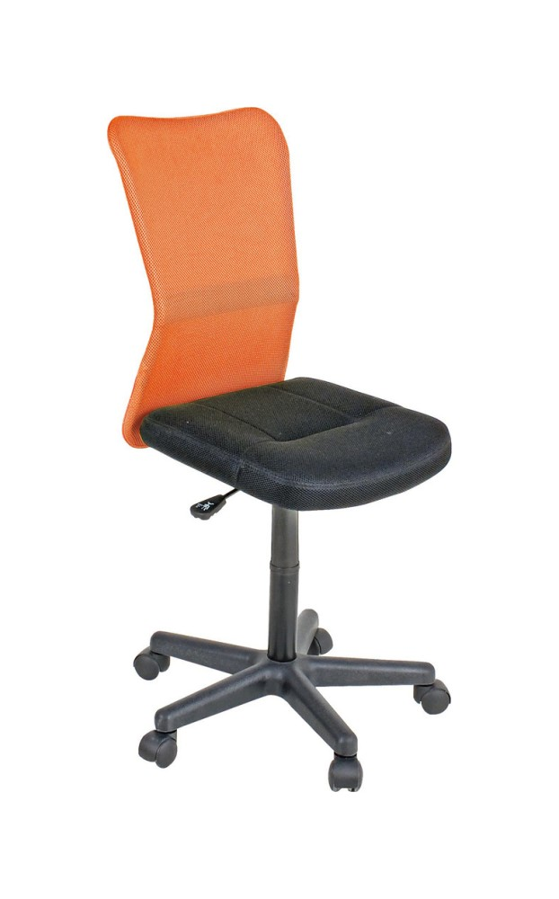 Photos 1: Bizzotto Chair office with wheels - orange 0710135