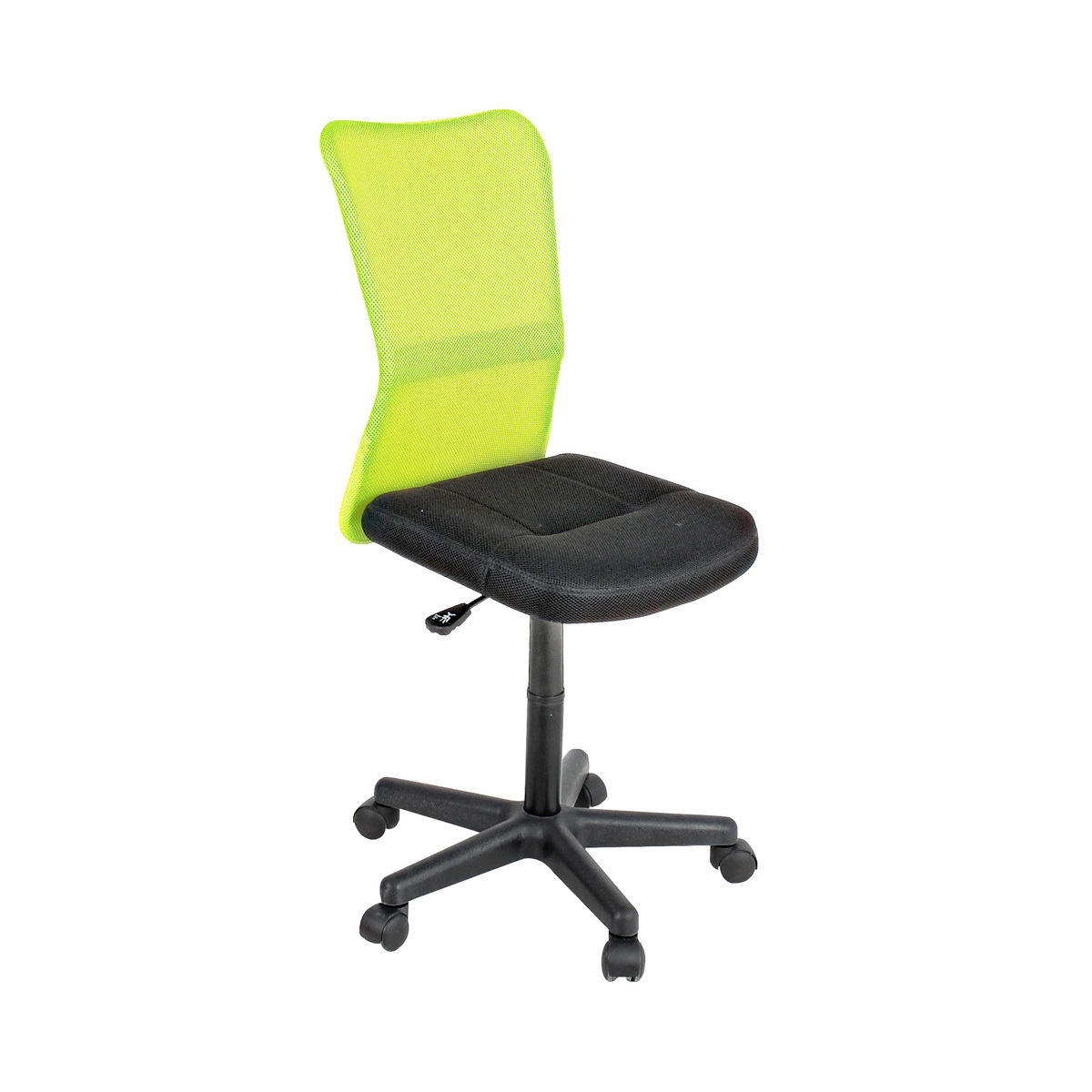 Photos 1: Bizzotto Office chair with wheels - green lime 0710136