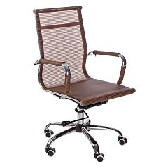 Bizzotto 0710159 Office armchair with wheels - orange Manager