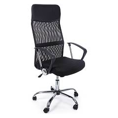Bizzotto 5710197 - Dakar Chair office with wheels - black