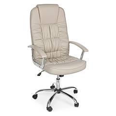 Bizzotto 5710205 - Dehli Chair office with wheel - dove