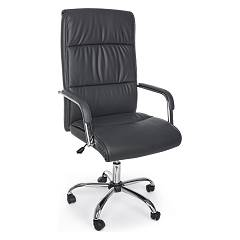 sale Bizzotto 5710221 - Queensland Chair Office With Wheel - Dark Grey