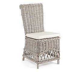 Bizzotto 0671649 Rattan chair with cushion Warna