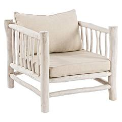 Bizzotto 0680400 - Sahel Chair-in teak wood with pillows