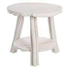 Bizzotto 0680410 Wooden table d. 50 Sahel