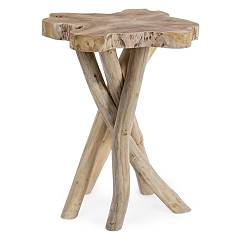 vente Table Basse En Bois L. 35 X 35 0680423 - Aisha