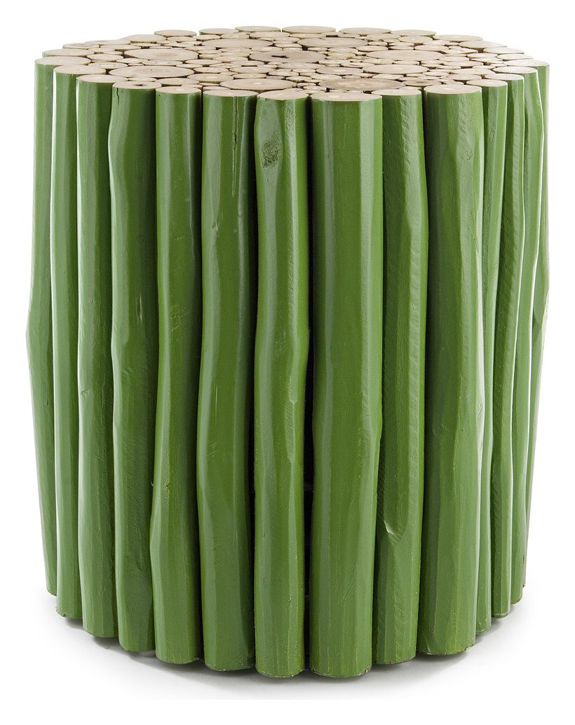 Photos 1: Bizzotto 0680443 Guadalupe Wooden table d. 38 - green